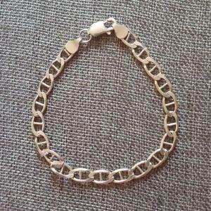 """9"""" Silver Bracelet (Men's)"""